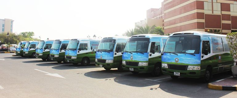 Ajman University Vehicle Branding