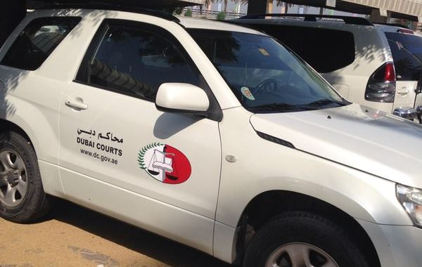Dubai Courts – Vehicle Branding