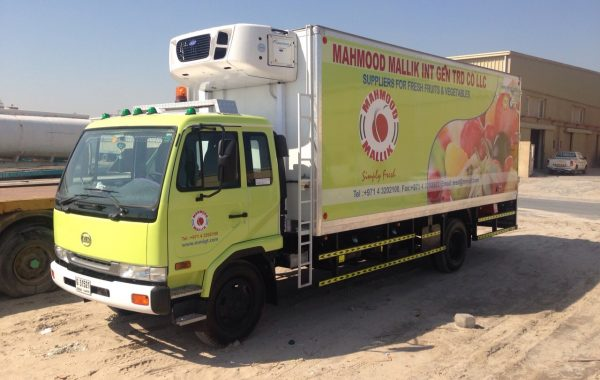 MAHAMOOD MALLIK INT Vehicle Branding