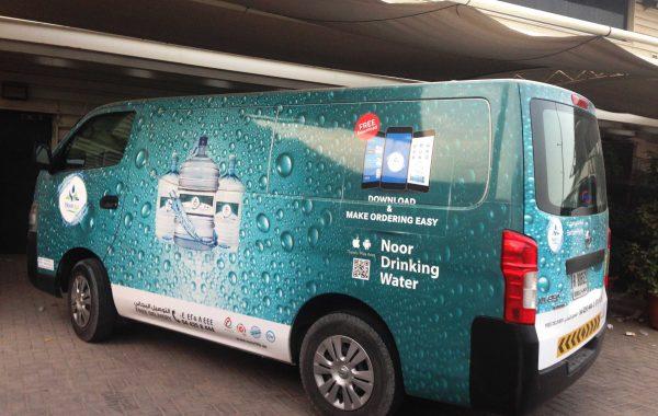 Noor Life Pure Water – Vehicle branding