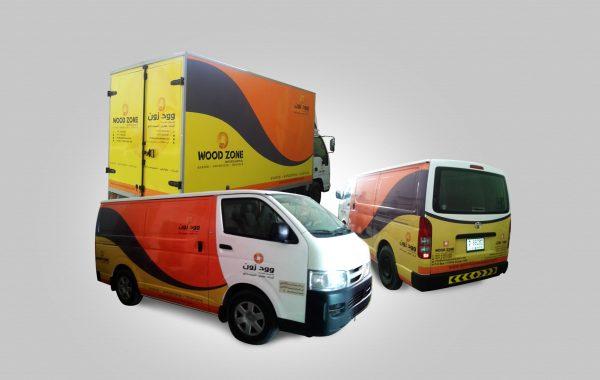 Wood Zone – Vehicle Branding.