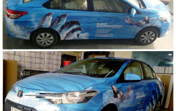 Car Wrapping -DUBAI DOLPHINARIUM