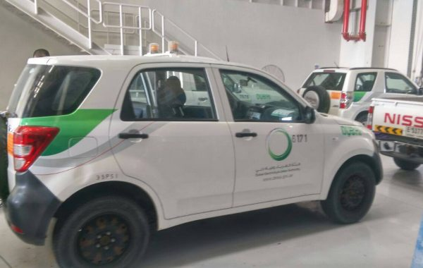 Vehiclebranding  For Dubai Electricity and Water Authority (DEWA)