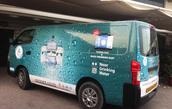Noor Life Pure Water – Vehicle branding