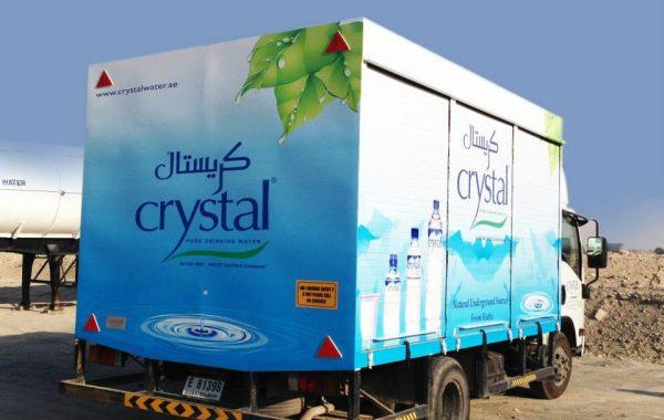 Crystal water- Branding