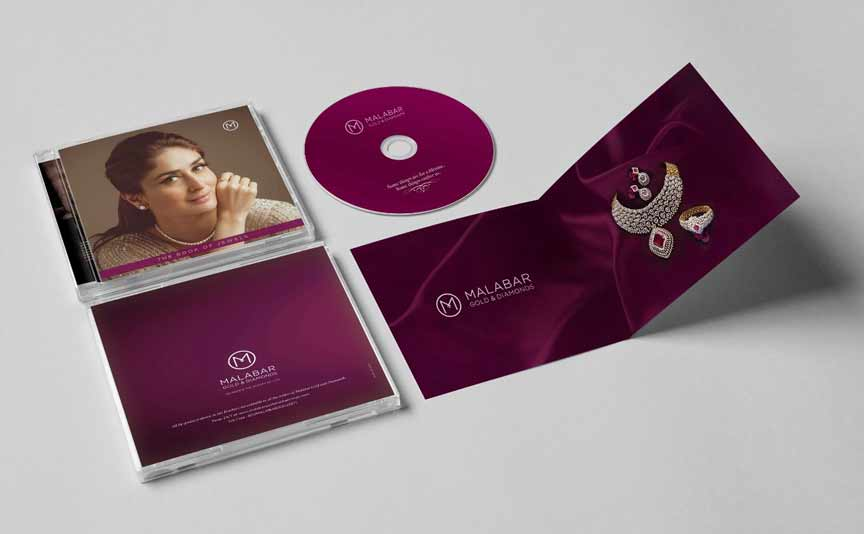 CD Cover Printing - Offset Printing Service all over UAE
