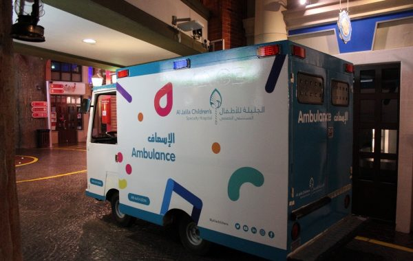 Al Jalila Hospital Ambulance – Vehicle Branding