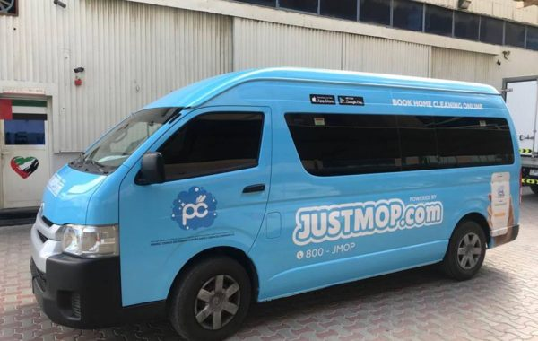 Just Mop – vehicle branding