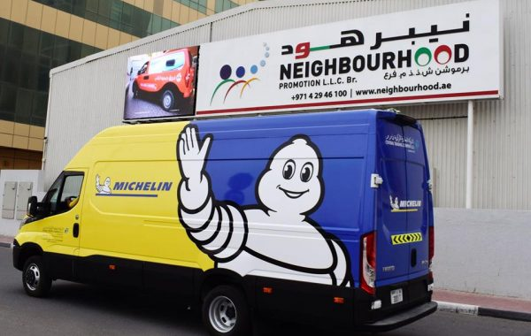 Michelin Vehicle Branding
